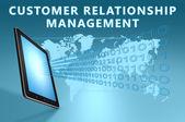 Amministrazione di rapporto del cliente — Foto Stock