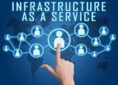 Infrastructure as a Service — Foto Stock