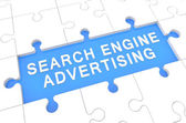 Search Engine Advertising — Stock Photo