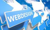 Webdesign — Stock Photo