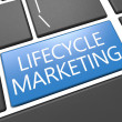 Lifecycle Marketing — Stock Photo