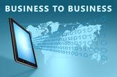 Zaken aan zaken — Stockfoto