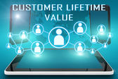 Customer Lifetime Value — Stockfoto