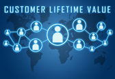 Customer Lifetime Value — Foto de Stock