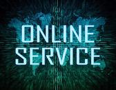 Online dienst — Stockfoto