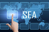 Search Engine Advertising — Stockfoto