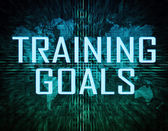 Training Goals — Stock Photo