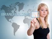 Brandbuilding — Stockfoto