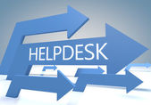 Helpdesk — Stock Photo