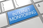 Internet Monitoring — 图库照片