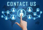 Contact us — Stock Photo