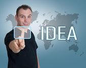 Idea Concept — Stock Photo