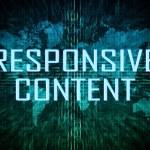 Responsive Content — Stock Photo #50149965