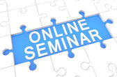Online Seminar — Stock Photo