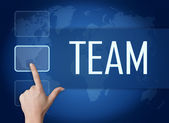 Team Concept — Stockfoto