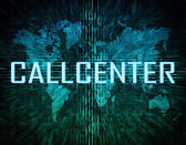 Callcenter — Stock Photo