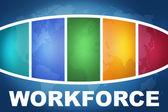 Workforce — Stock Photo