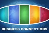 Geschäftsverbindungen — Stockfoto