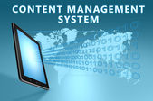 Content Management System — Stockfoto