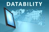 Datability — Stockfoto
