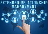 Extended Relationship Management — Stok fotoğraf
