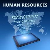 Menselijke hulpbronnen — Stockfoto