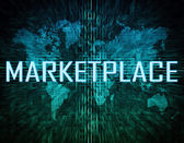 Marketplace — Stock Photo