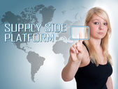 Supply Side Platform — Stockfoto