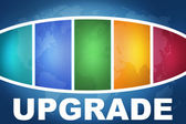 Upgrade — Stockfoto