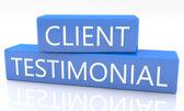 Client Testimonial — Stock Photo