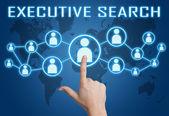 Busca de executivos — Foto Stock