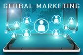 Marketing globale — Foto Stock