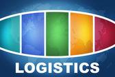 Logística — Foto Stock