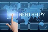 нужна помощь — Стоковое фото