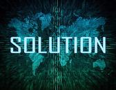 Solução — Fotografia Stock