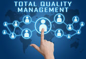 Total Quality Management — Stock Photo