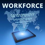 Workforce — Foto Stock