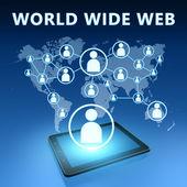 ワールド ・ ワイド ・ ウェブ — ストック写真
