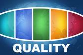 Quality — Foto Stock