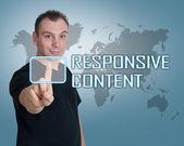 Responsive Content — Foto de Stock