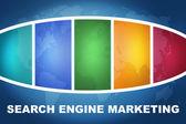 Marketing motore di ricerca — Foto Stock