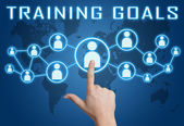 Training Goals — Foto de Stock