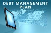 Debt Management Plan — Foto de Stock