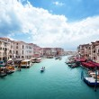 Grand Canal in Venice, Italy - Foto Stock