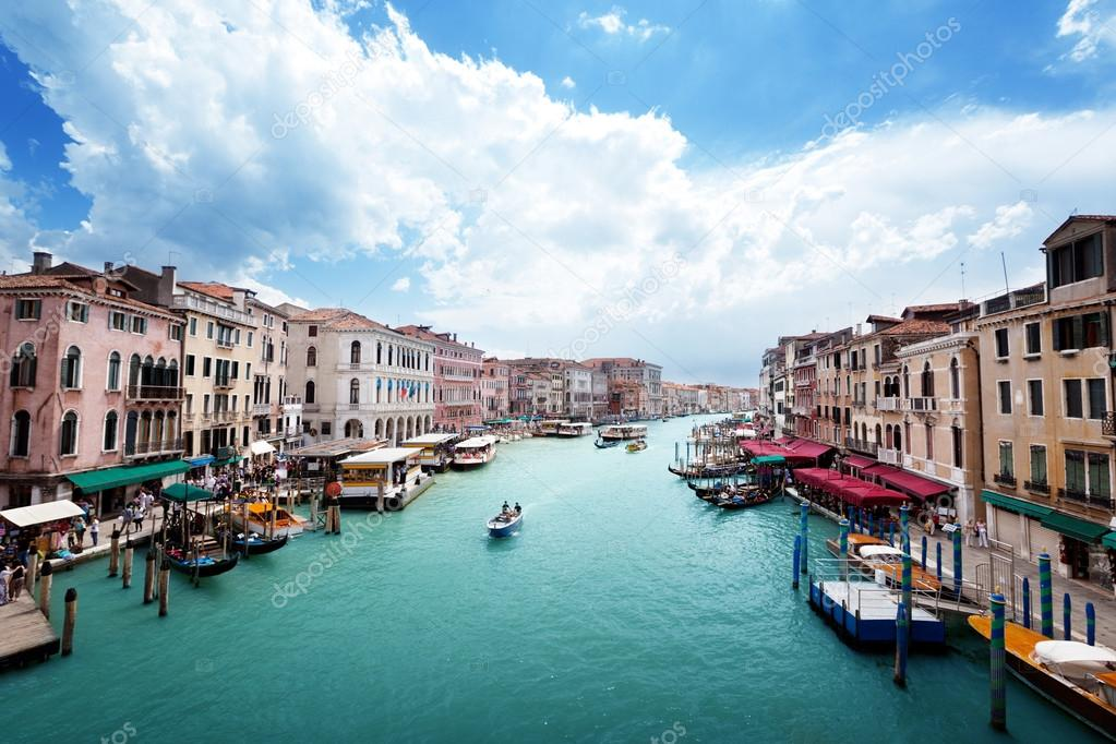 Grand Canal in Venice, Italy  — Stock Photo #12441401