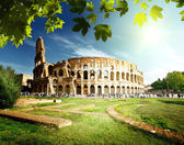 Coliseo en roma, italia — Foto de Stock