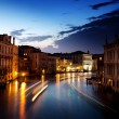 Grand Canal in Venice, Italy at sunset - Foto Stock
