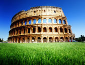 Colosseum in Rome, Italy — Foto Stock