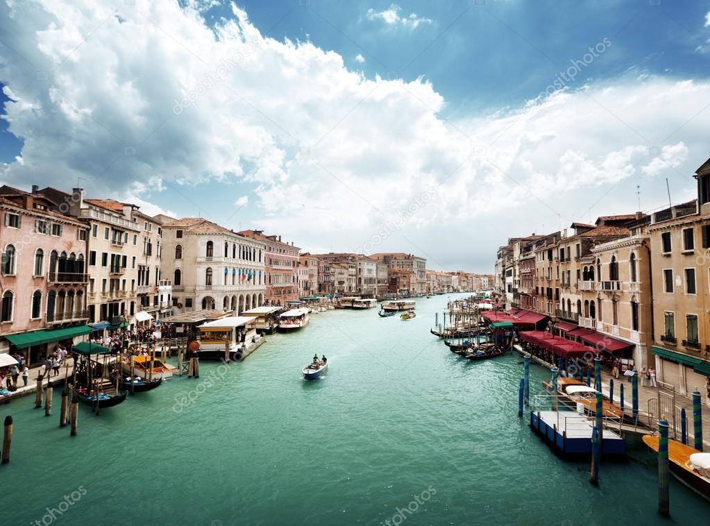 Grand Canal in Venice, Italy  — Stock Photo #12888390