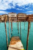 Gran canal, venecia, iataly — Foto de Stock